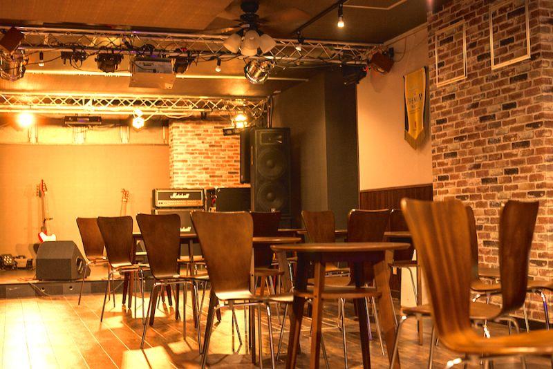 池袋ライブホール ホットアイズ 貸切レンタルホールの室内の写真