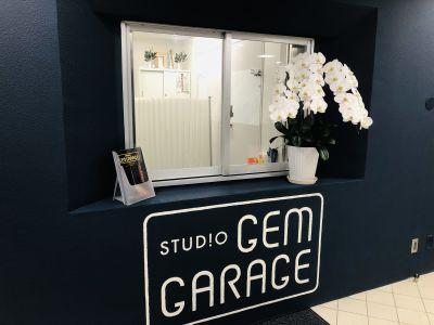 STUDIO GEMGARAGE ルームBの入口の写真