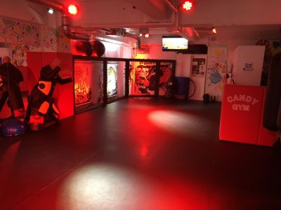 CANDY GYM レンタルスタジオの室内の写真
