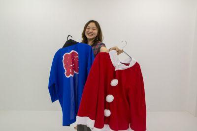 衣装は無料貸出してます - 撮影スタジオ@いいオフィス上野 撮影スタジオの設備の写真