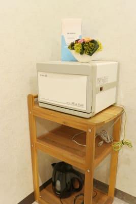 ホットウォーマー完備★ - MODE K's 塚口店 レンタルルームの設備の写真