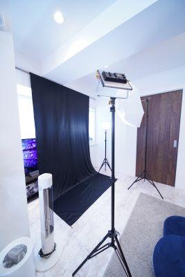 港区アイランドキッチンスタジオ 撮影/女子会/お食事会/映画鑑賞の室内の写真