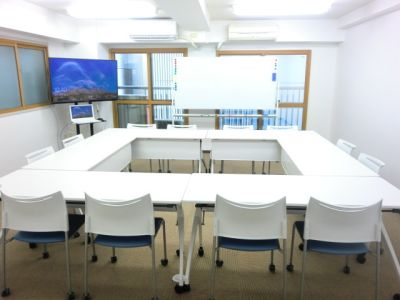 ひまわり会議室 ひろびろゆったりスペースの室内の写真