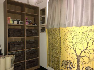 簡易更衣室です - レンタルスペース ハルモニア フリースペースの室内の写真