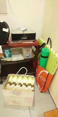 Studio内の無料備品 - レンタルミニスペース フクリズム 1階 多目的スタジオの設備の写真