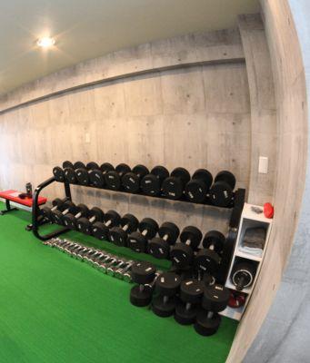 BEEFMAN workout トレーニングジムの設備の写真