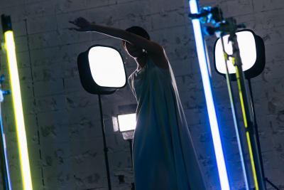 様々な照明演出が可能です! - 【格安撮影】インザハウスCst.の室内の写真