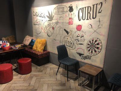 CURU CURU BARの室内の写真