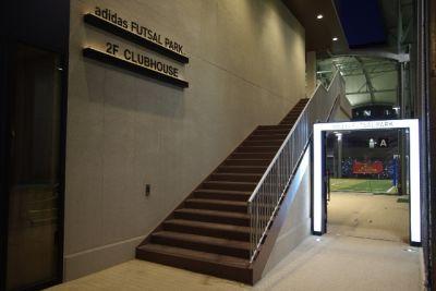 アディダスフットサルパーク川崎 【Bコート】多目的スペース の入口の写真