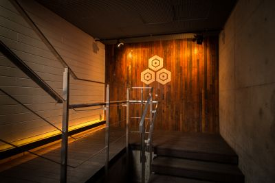 NOS恵比寿 イベントスペースの入口の写真
