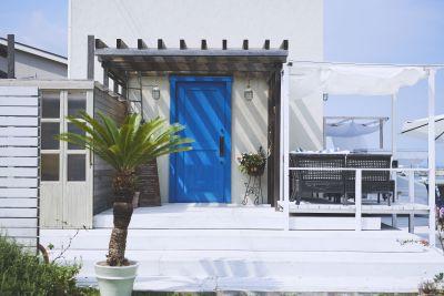 CAFE  azito ロケーションスタジオの入口の写真