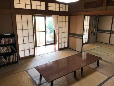 大宮台ひだまりと本の家 14畳和室の室内の写真