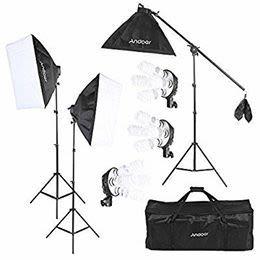 照明、オンライン配信やショッピングサイトの商品撮影のシーンで - 貸会議室リヴィング・ラボとくしま 小ルーム JR徳島駅近く貸し会場の設備の写真