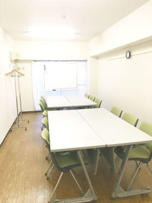 五反田駅すぐ!1名から18名までOKのゆったり会議室 完全個室・貸会議室の室内の写真