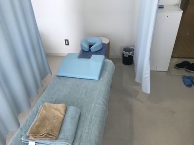 飯倉ボディケア鍼灸院 レンタルベッドの室内の写真