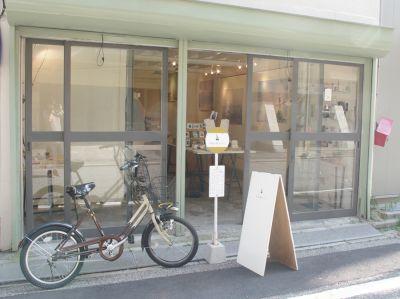 写真企画室ホトリ 1階スペースの入口の写真