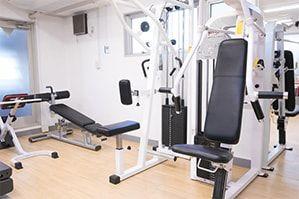 トライエクス赤坂 トレーニングジムの室内の写真