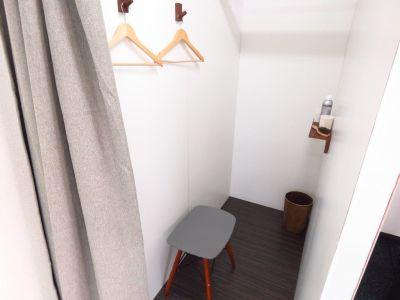 更衣スペース - 西新宿レンタルジム レンタルジムの室内の写真