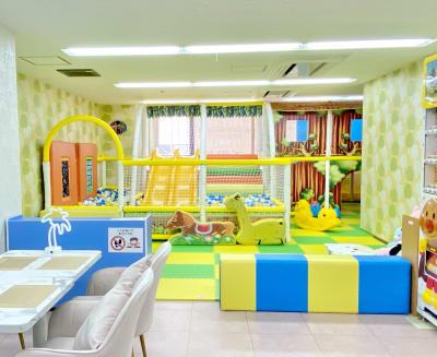 キッズスペース - T-TEAママ&キッズ喫茶の室内の写真