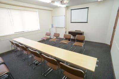 名駅セミナーオフィス(D~F) ルームEの室内の写真