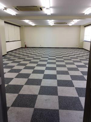 フマニタスビルレンタルスペース 1階・多目的会議室フロア の室内の写真