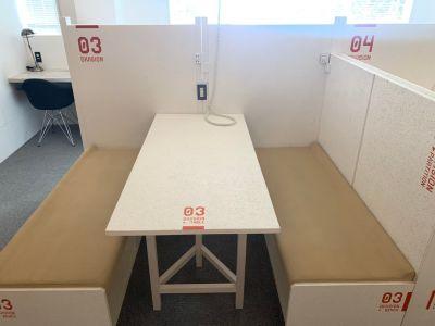 オフィスパーク 六本木コークス ブース3の室内の写真