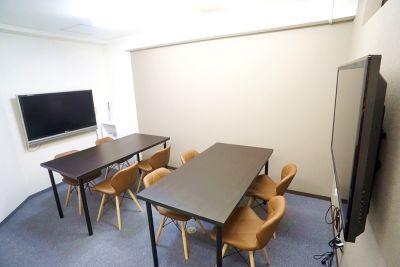 新大阪セミナーオフィスO6、7 ルームO-7の室内の写真