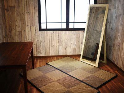 着付け (鏡・畳)配置 - hair ROOK るうく 2F 貸スタジオの室内の写真