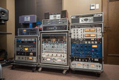 田端レコーディングスタジオ「CPR」 個室スタジオの室内の写真