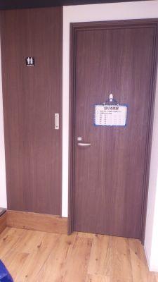自習室at home 貸会議室 習い事 コワーキングの入口の写真