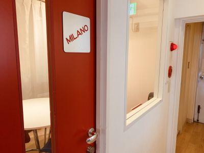 語楽塾リトルヨーロッパ 横浜校 レンタル会議室の入口の写真