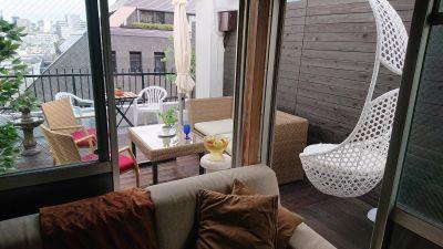 サロンドソレイユ  撮影に最適!ルーフバルコニーですの室内の写真
