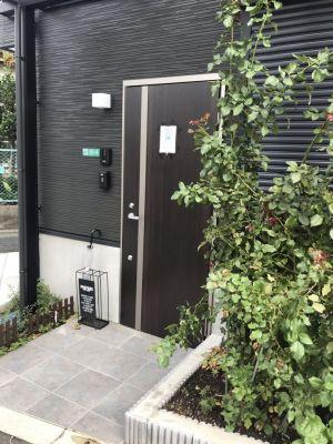 目黒5号 女子会スペースの入口の写真