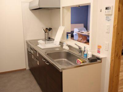 K's STUDIO宮前平 キッチン・キッズスペース付きの設備の写真