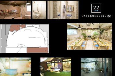 CAFE&WEDDING 22 カフェスペースの設備の写真