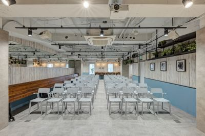 TGIマーケティング ソーシャルスペース赤坂の室内の写真
