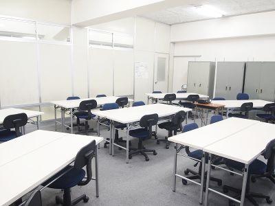 貸教室・貸会議室 内海 1F教室の室内の写真