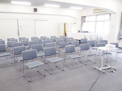 貸教室・貸会議室 内海 4F教室の室内の写真