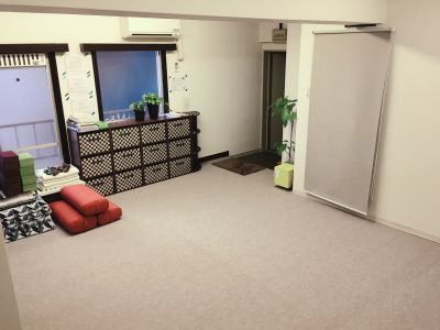 RUIYOGA ヨガ・ピラティスサロンの室内の写真