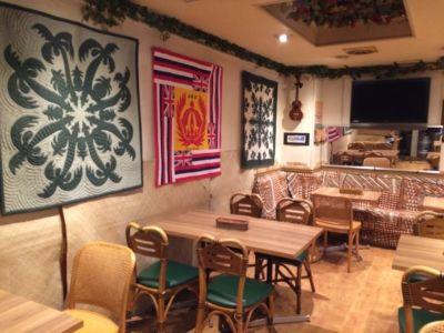 オゴオノロアハワイ カルチャーライブスペースの室内の写真