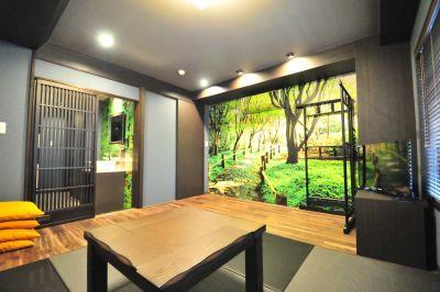 KIZASU.Office 多目的ルーム(和室)の室内の写真