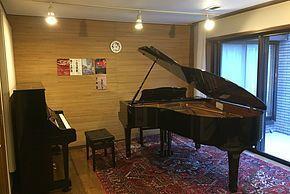 個人宅 クラシック音楽専門スタジオの室内の写真