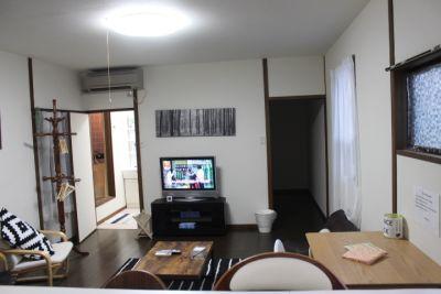 鶴橋商店街キッチン充実の一軒家! キッチンリビング貸切の室内の写真
