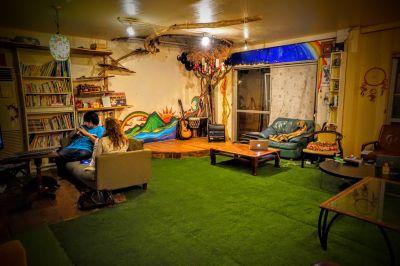 JamHouse天照 Co-Living Space 多目的スペースの室内の写真