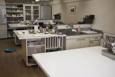 ポケットキッチン渋谷料理教室 レンタルキッチン ルームBの室内の写真
