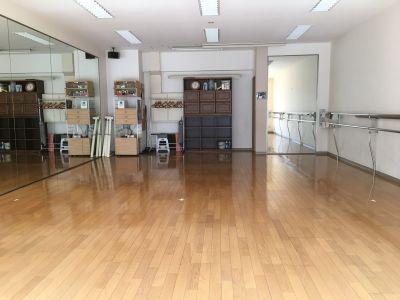 北山田 TS スタジオ 貸切ダンススタジオの室内の写真