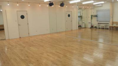 パレアダンススタジオ スペースAの室内の写真