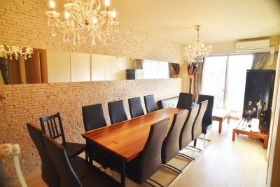 高層階ワークスペース キッチン付 多目的スペースの室内の写真