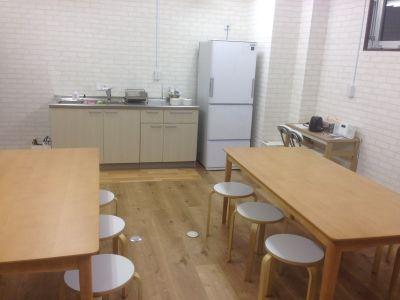 Hana Kitchen キッチン付きレンタルスペースの室内の写真