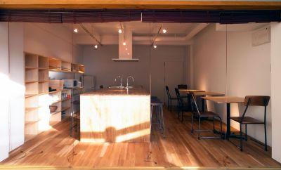 一乗寺 RIVERROADレンタルキッチン 貸切シェア・キッチンの室内の写真